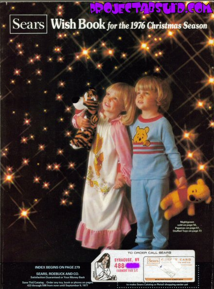 Sears Christmas Wish Book.Sears Christmas Wish Book 1976 Part 1 Project Absurd